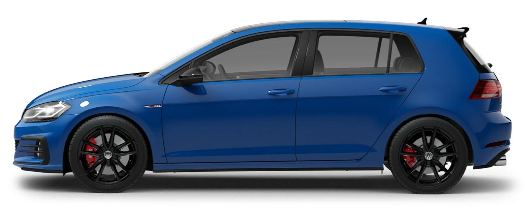 2021 Volkswagen Golf GTI Cornflower Blue