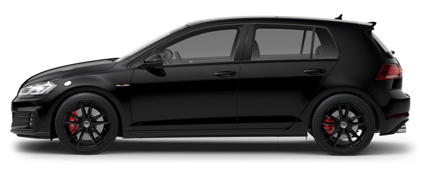 2021 Volkswagen Golf GTI Deep Black Pearl