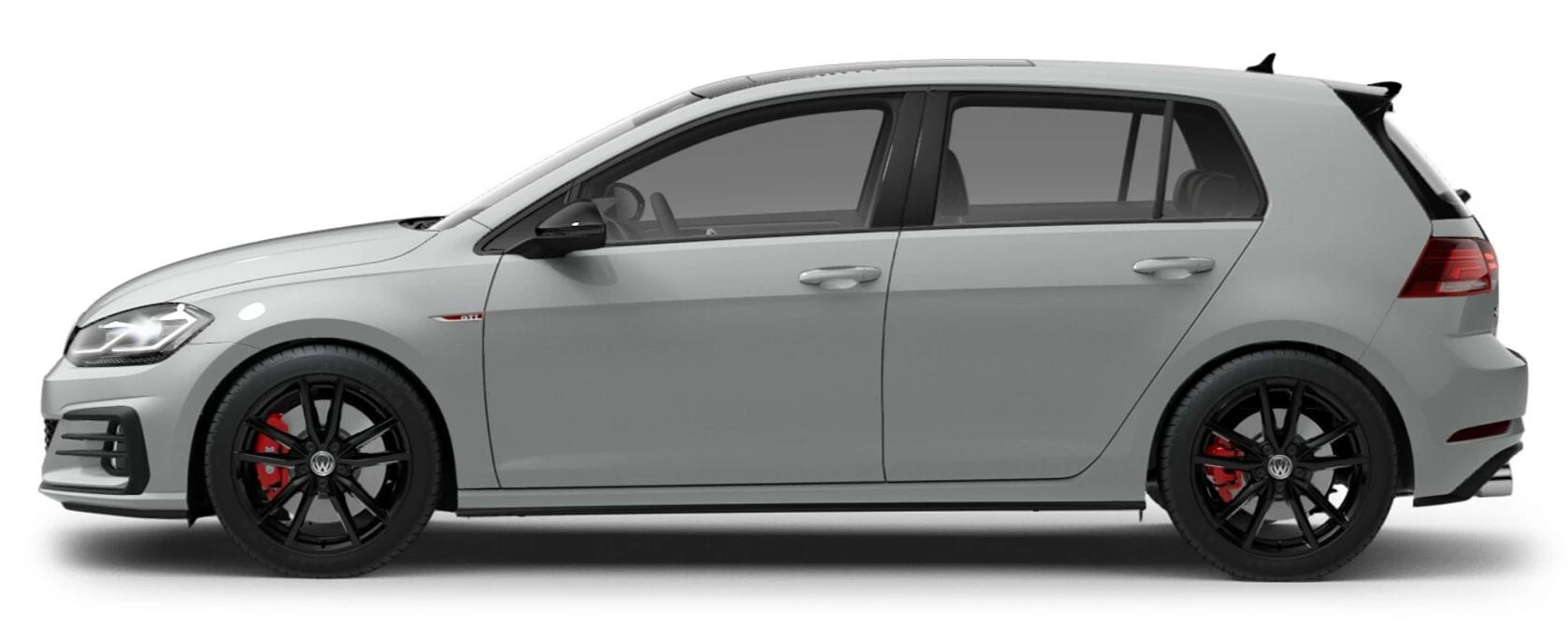 2021 Volkswagen Golf GTI Pure White