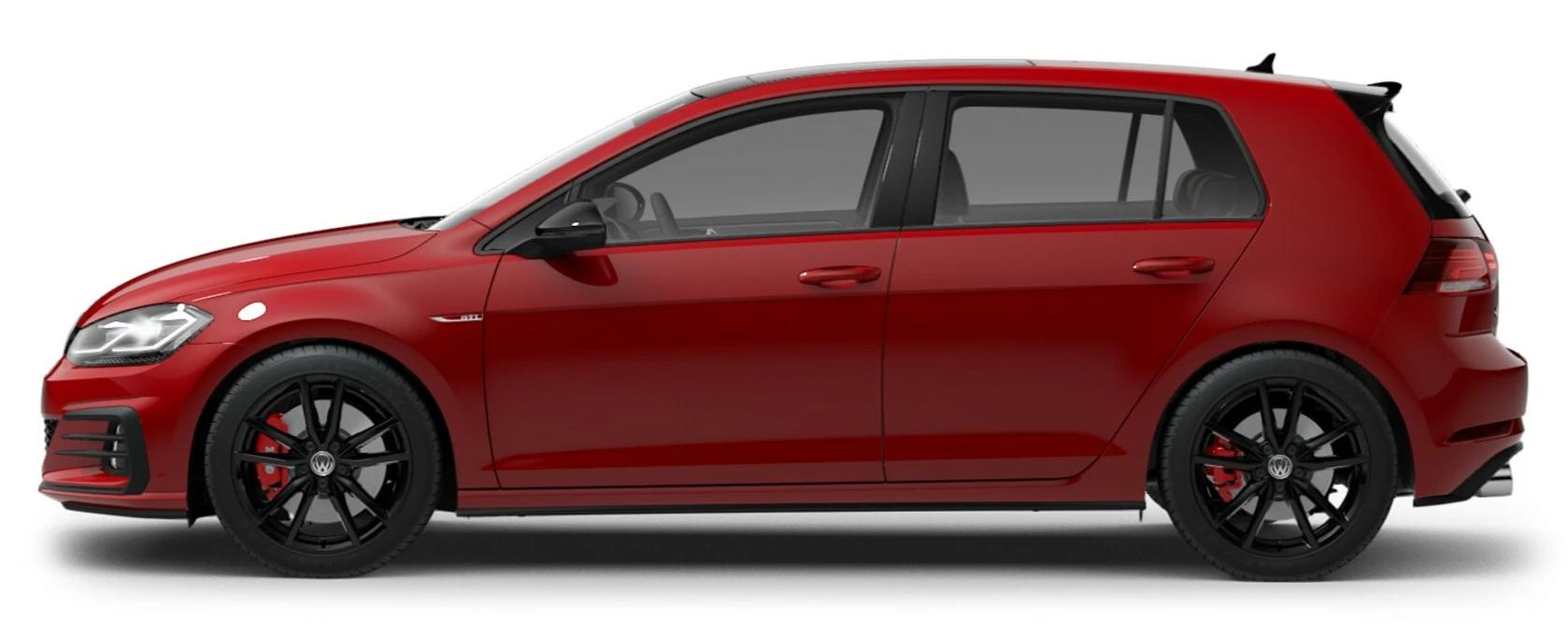 2021 Volkswagen Golf GTI Tornado Red
