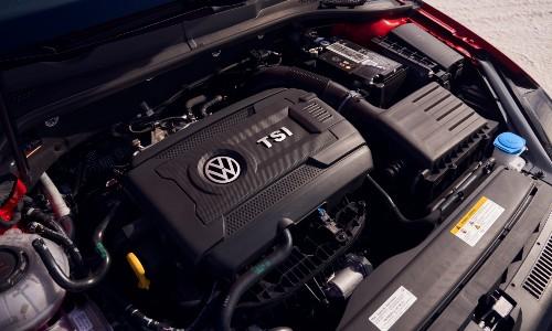 2021 Volkswagen Golf GTI engine compartment