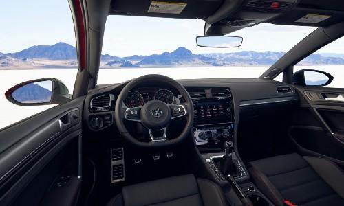 2021 Volkswagen Golf GTI interior front cabin