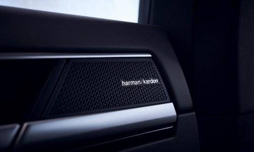 2021 Volkswagen Arteon interior close up on HK speakers