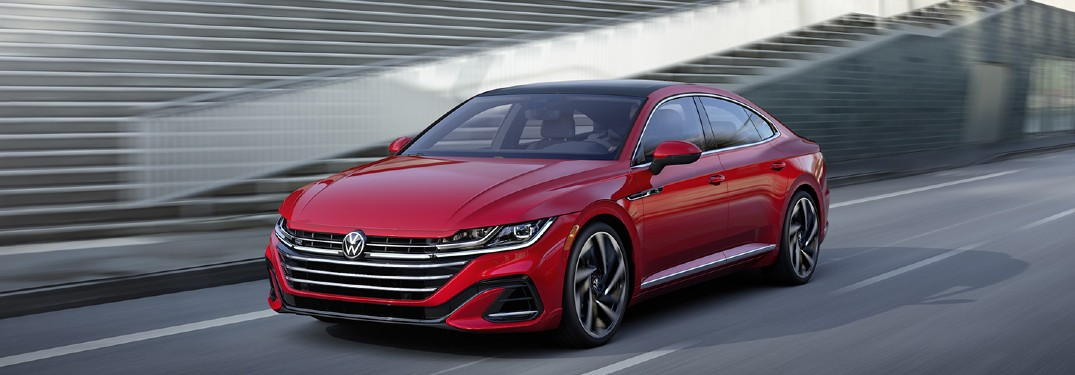 2021 Volkswagen Arteon Trunk Space and Passenger Space