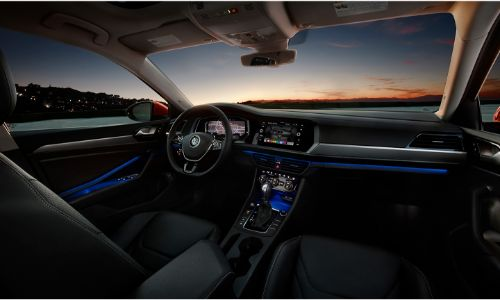 2021 Volkswagen Jetta interior front dashboard