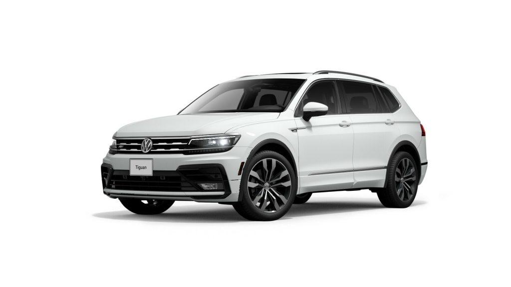 2021 Volkswagen Tiguan Pure White