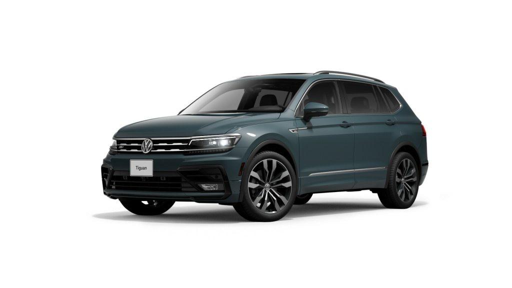 2021 Volkswagen Tiguan Stone Blue