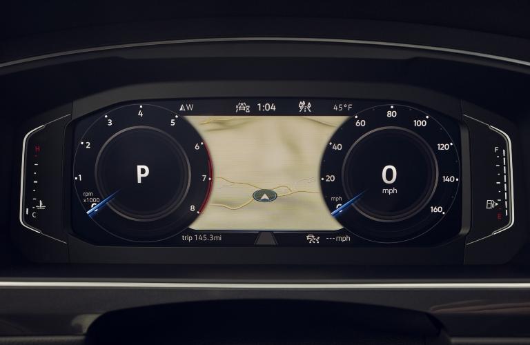 2021 Volkswagen Tiguan gauge cluster