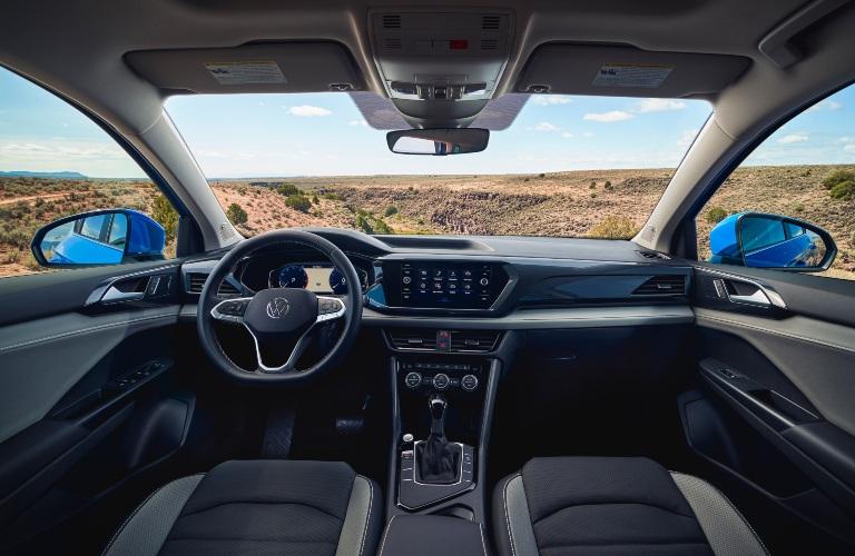 2022 Volkswagen Taos black interior