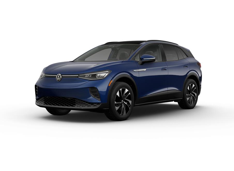 2021 Volkswagen ID.4 dusk blue