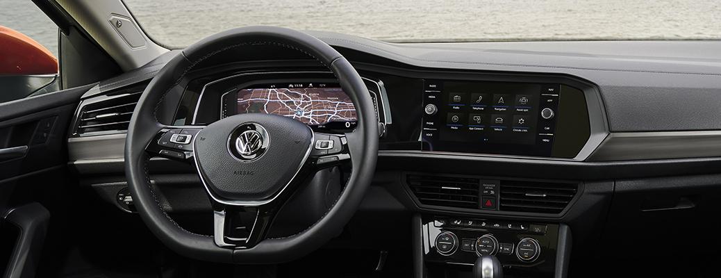 2021 Volkswagen Jetta interior dash