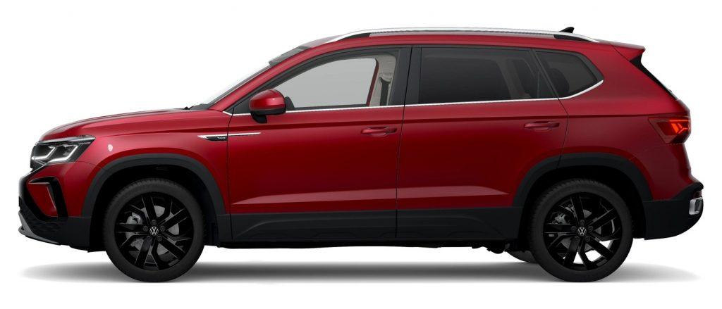 2022 Volkswagen Taos Kings Red