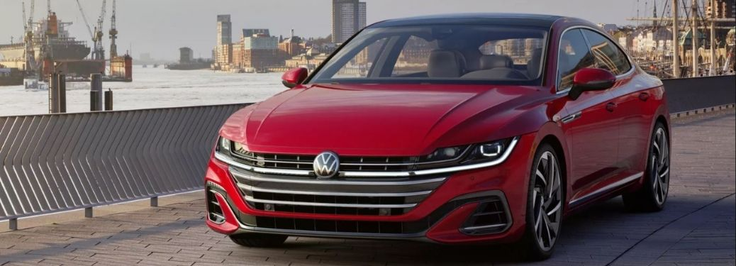 2021 Volkswagen Arteon Red Front and Side