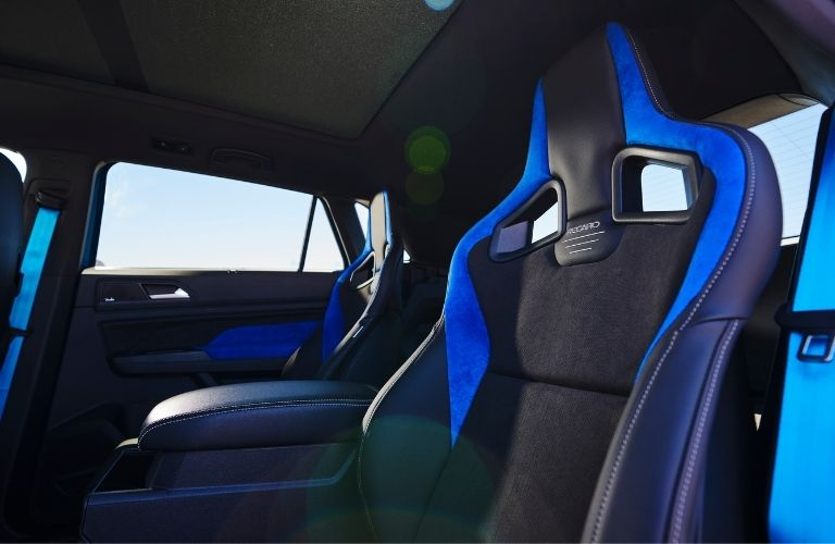 Interior and seats of the VW Atlas Cross Sport GT Concept