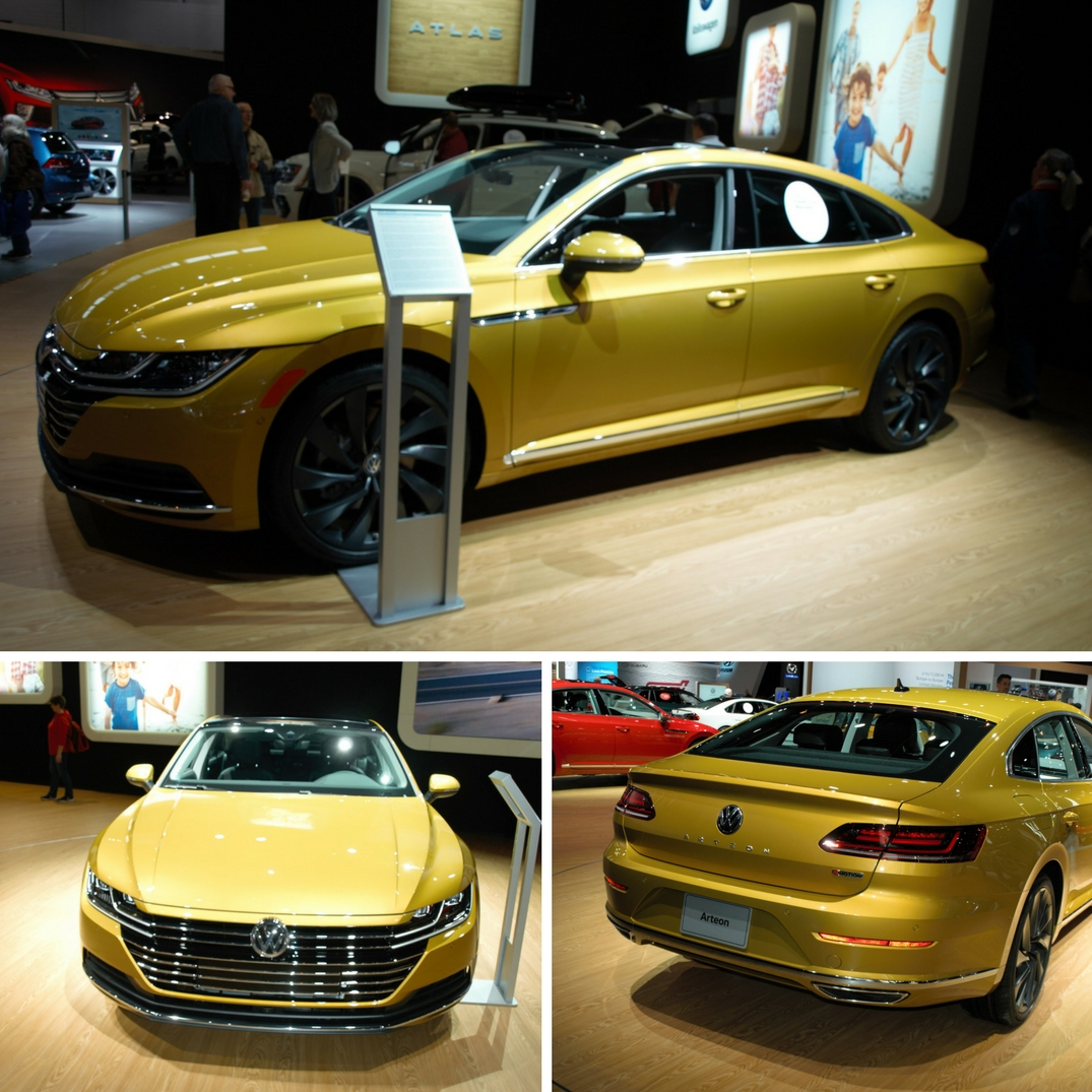 Photos Of 2019 Volkswagen Arteon From The 2018 Chicago