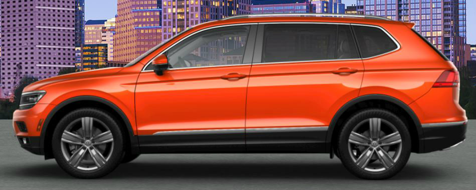 Paint Color Options For The 2018 Volkswagen Tiguan In Bronx Ny