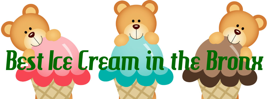 3 bears with ice cream cones