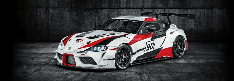 Toyota Supra GR racing concept front exterior