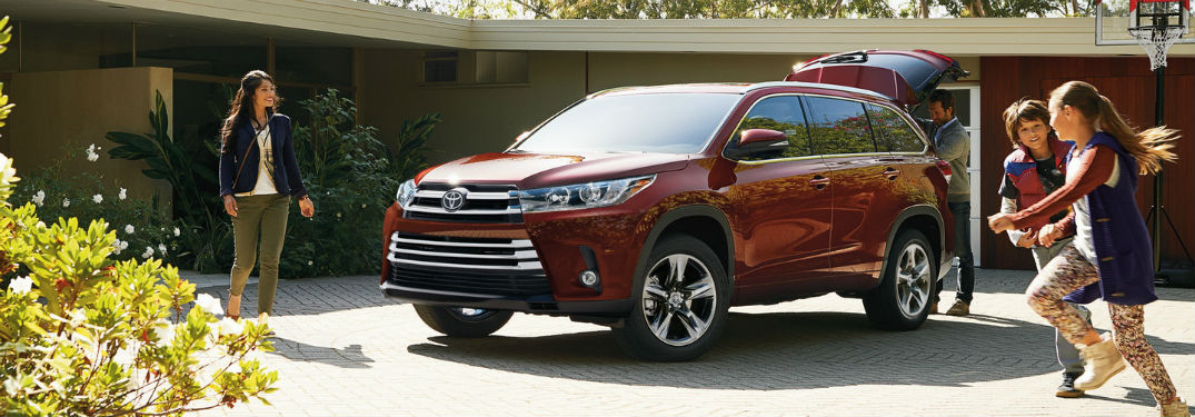 Can the 2019 Toyota Highlander Fit the Whole Family Inside?