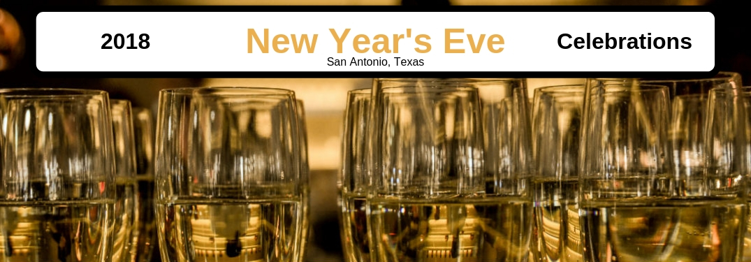 2018 New Years Celebrations in San Antonio, Texas