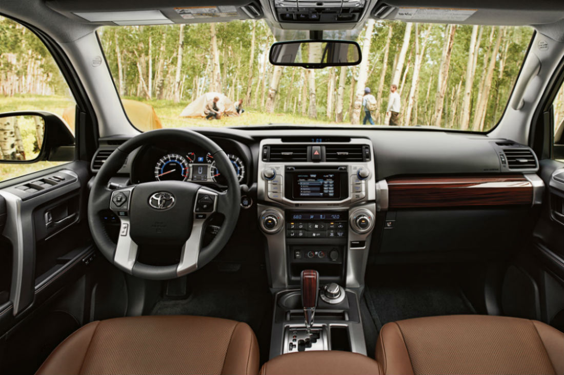 How Many Rows Of Seating Does The 2019 Toyota 4runner Equipped With