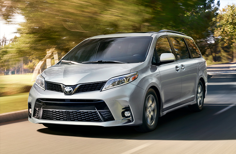 2019 Toyota Sienna in gray