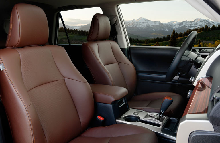 2020 Toyota 4Runner front seating