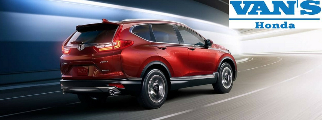 2018 Honda CR-V with Vans Honda logo