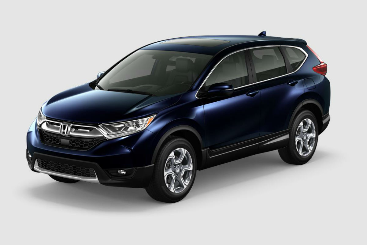 What are the Color Options for the 2018 Honda CR-V?
