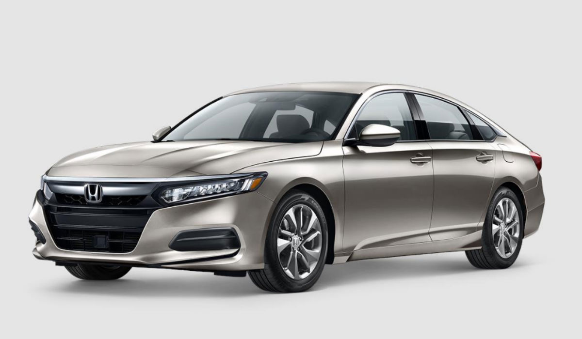 2018 Honda Accord Sedan in Champagne Frost
