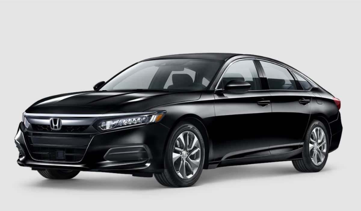 2018 Honda Accord Sedan in Crystal Black