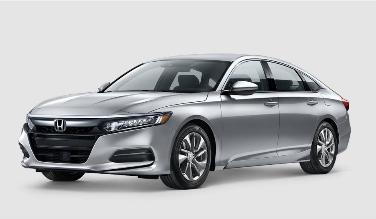 2018 Honda Accord Sedan in Lunar Silver