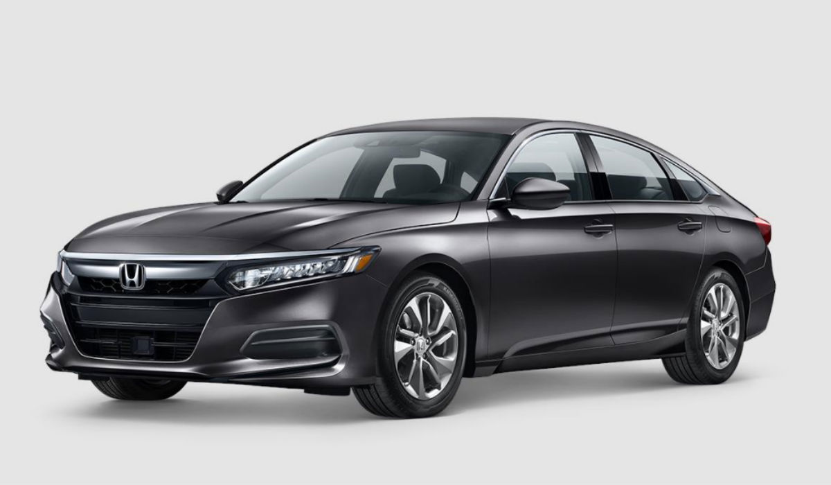 2018 Honda Accord Sedan in Modern Steel