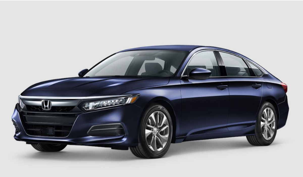 2018 Honda Accord Sedan in Obsidian Blue