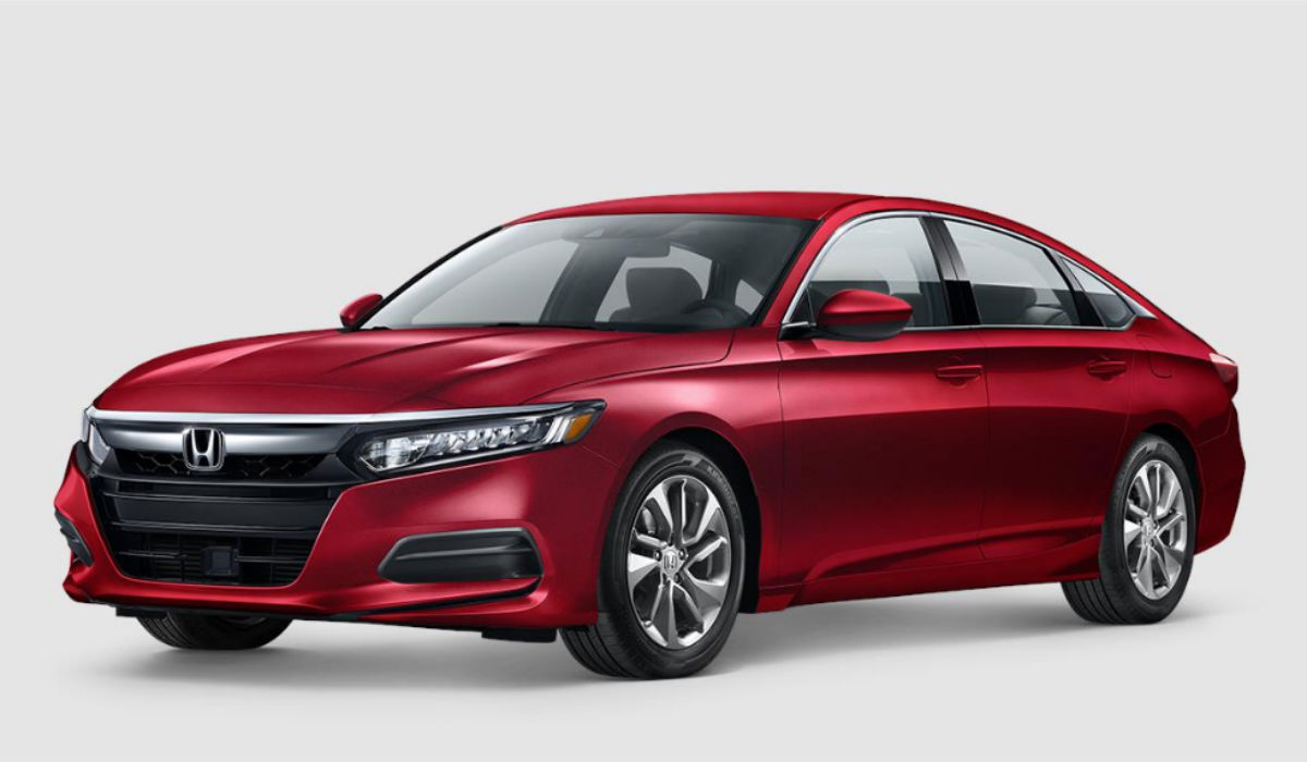 2018 Honda Accord Sedan in Radiant Red