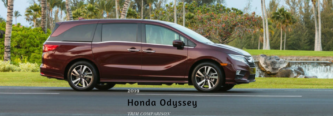 How Many Trim Levels Does the 2019 Honda Odyssey Have?