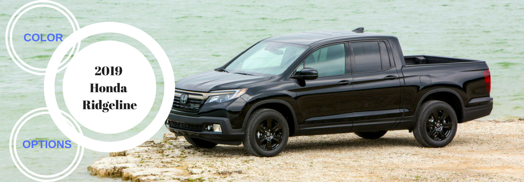 What Exterior Color Options Does the 2019 Honda Ridgeline Come In?