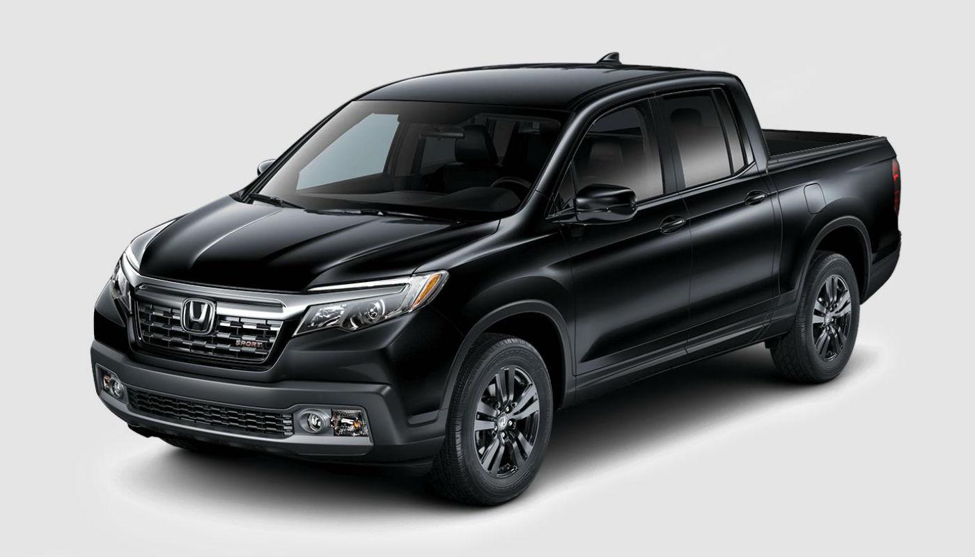 2019 Honda Ridgeline in Crystal Black Metallic
