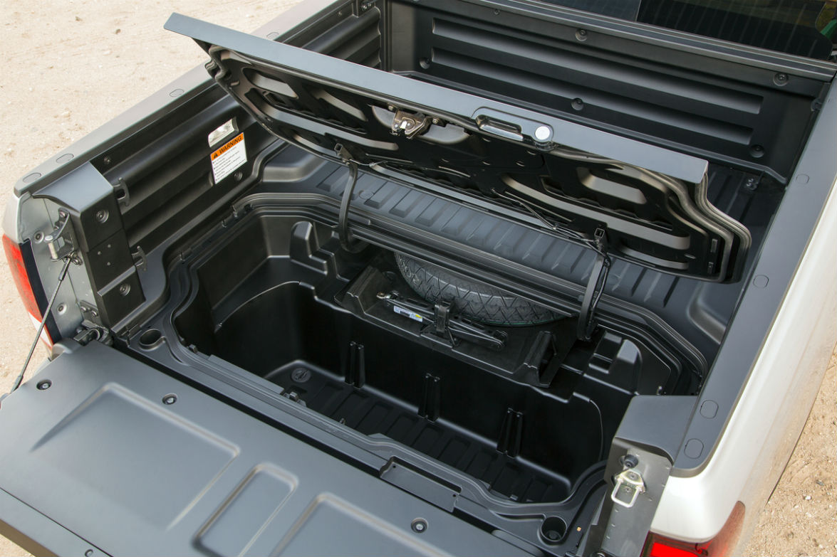 View of the In-Bed Trunk of the 2019 Honda Ridgeline