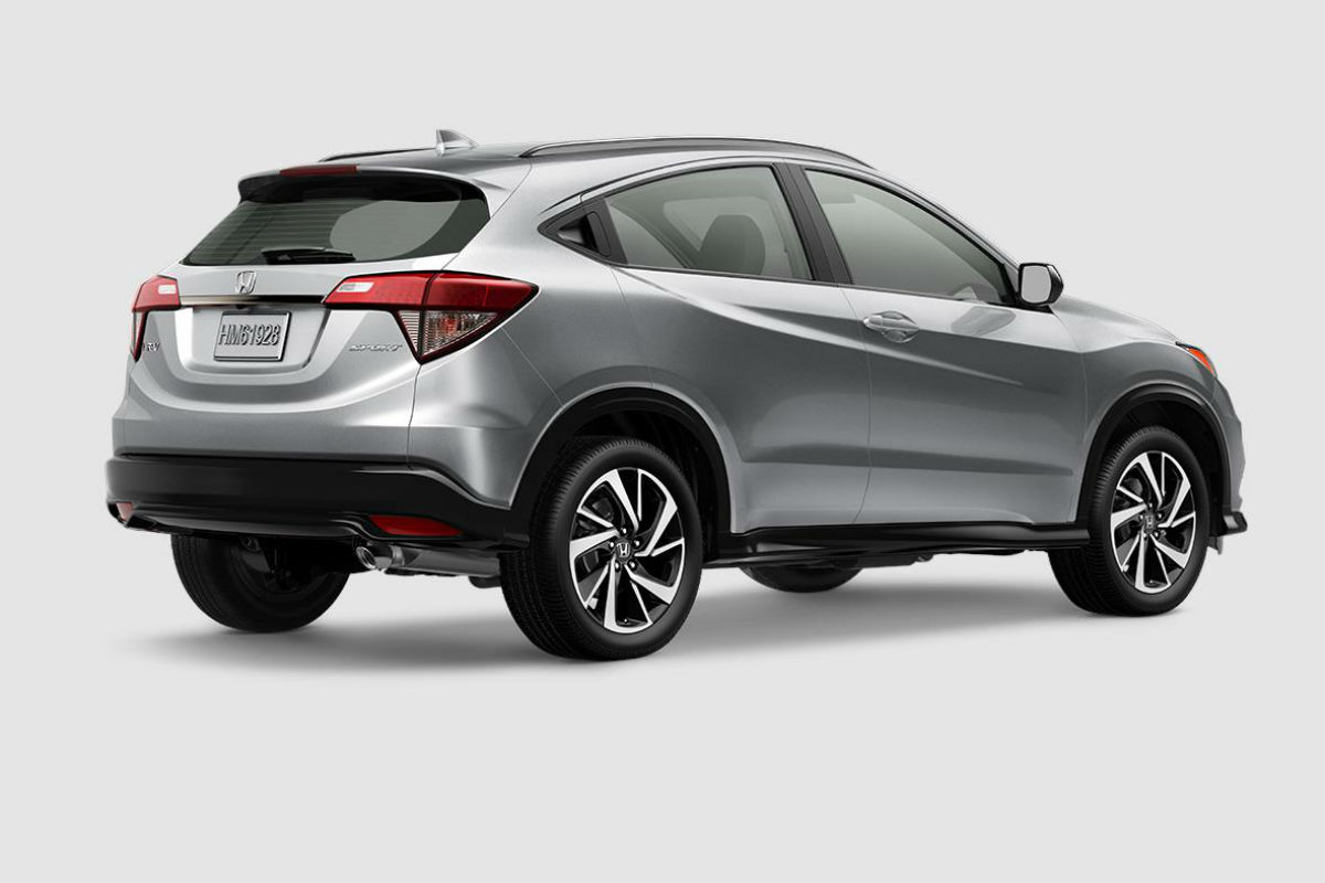 2019 Honda HR-V in Lunar Silver Metallic