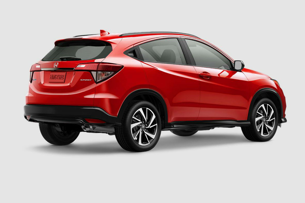 2019 Honda HR-V in Milano Red