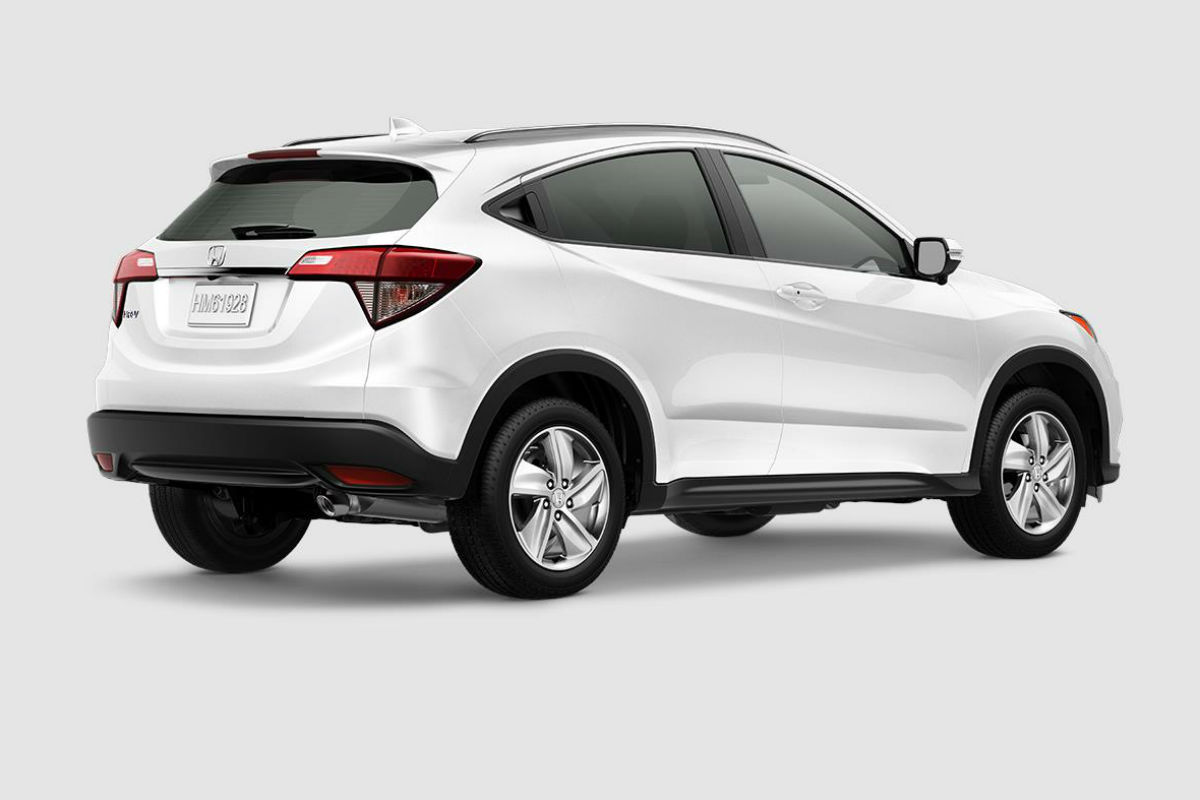 2019 Honda HR-V in Platinum White Pearl