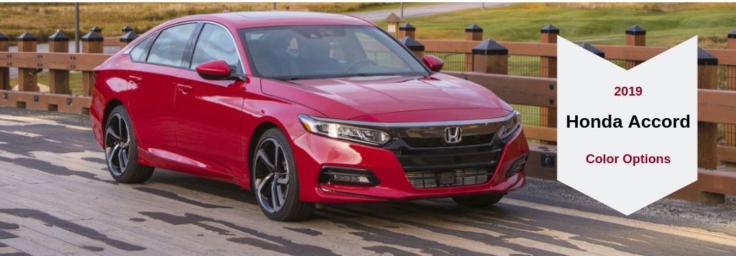 Take a Look at the Paint Color Options for the 2019 Honda Accord