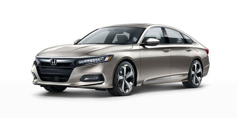 2019 Honda Accord in Champagne Frost Metallic