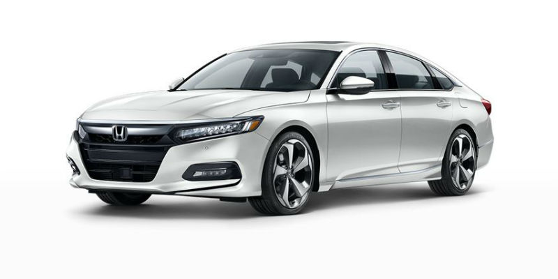 2019 Honda Accord in Platinum White