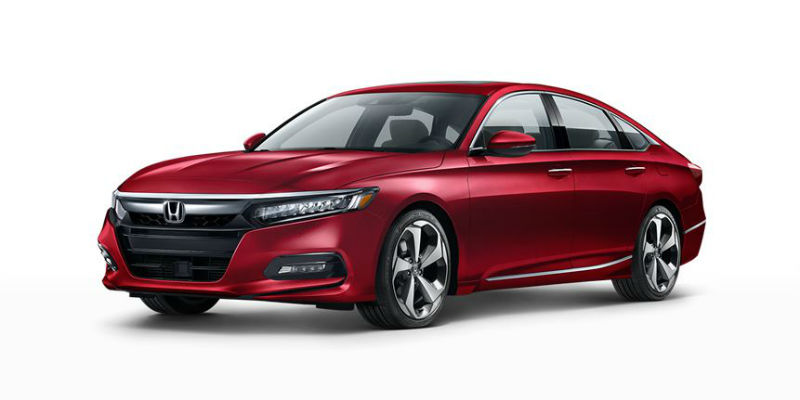 2019 Honda Accord in Radiant Red Metallic