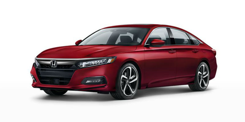 2019 Honda Accord in San Marino Red
