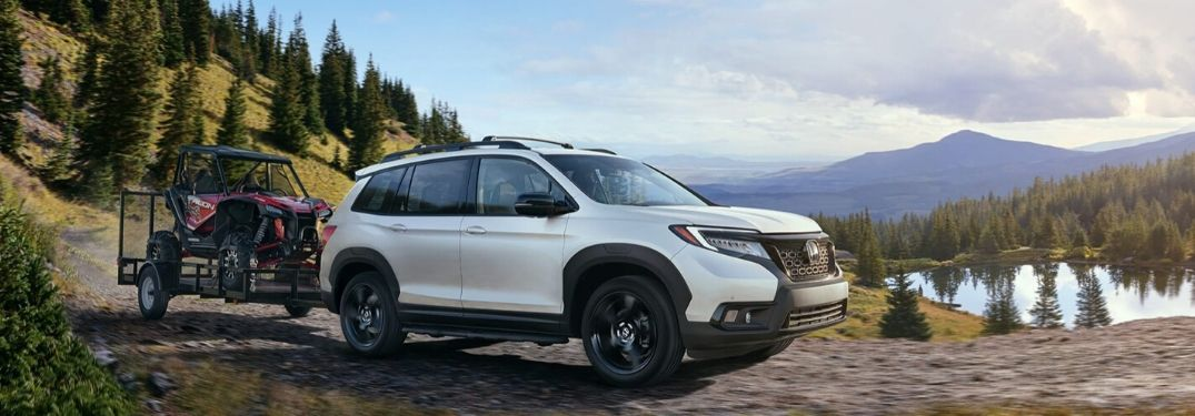 2019 Honda Passport AWD Elite towing trailer_o