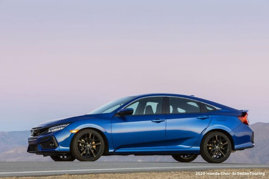 model explanation for the 2020 honda civic