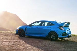 2020 Honda Civic Type R from driver's side